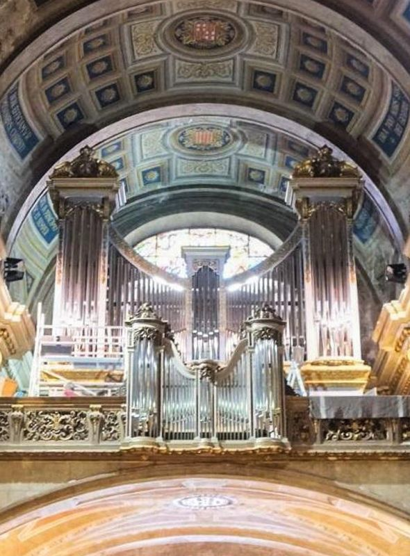 Inauguration of the organ of the Basilica of La Mercè, Barcelona